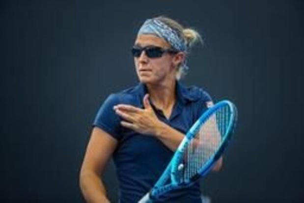 WTA Monterrey - Kirsten Flipkens verliest in kwartfinales van Angelique Kerber