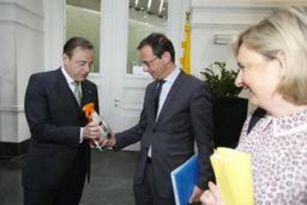 Le CD&V maintient sa position: il n'entend pas collaborer avec le Vlaams Belang