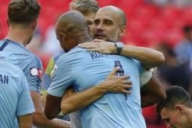 Guardiola et Martinez sur le banc pour le Jubilé de Vincent Kompany