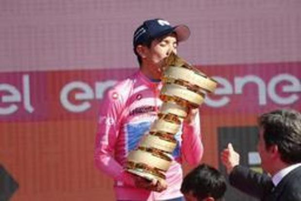"""Giro - Carapaz schrijft geschiedenis: """"Ik denk dat dit nog maar het begin is"""""""