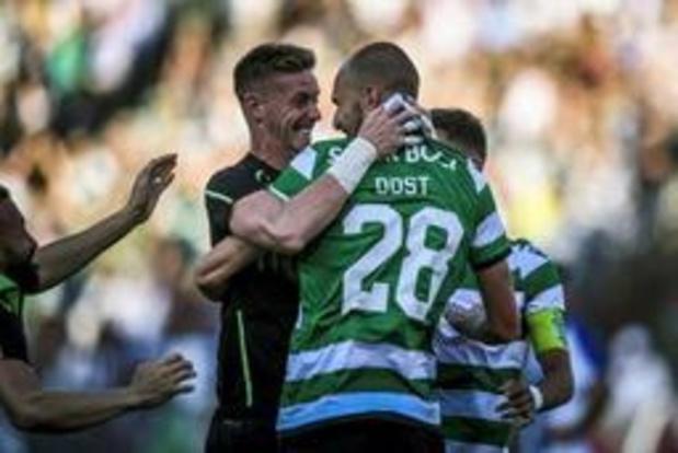 Le Sporting remporte la Coupe du Portugal au bout du suspense