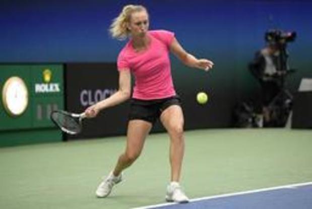 Elise Mertens opposée à la Tchèque Kristyna Pliskova au 2e tour