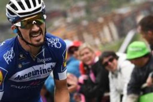 Tour de France - Julian Alaphilippe élu super-combatif du Tour de France 2019