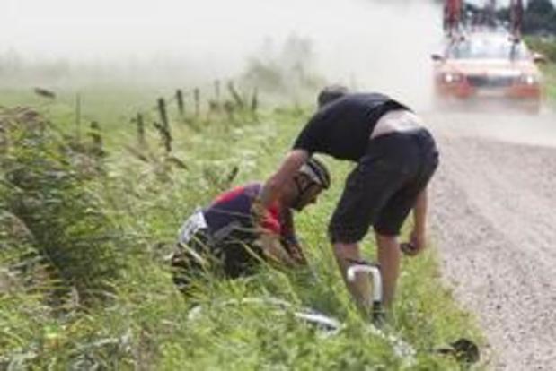 Coupe Sels: la course neutralisée après une série de chutes