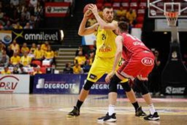 Euromillions Basket League - Antwerp wint in Oostende en brengt de stand terug gelijk