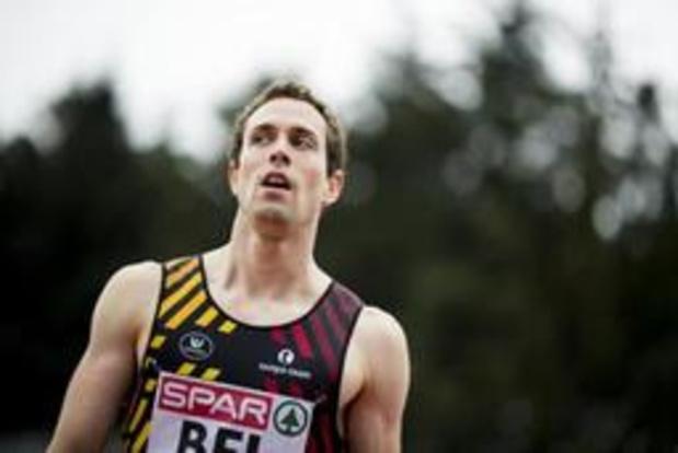 Championnats de Belgique d'athlétisme - Meilleur chrono de la saison pour Vanderbemden sur 200m, Jonathan Borlée pas content