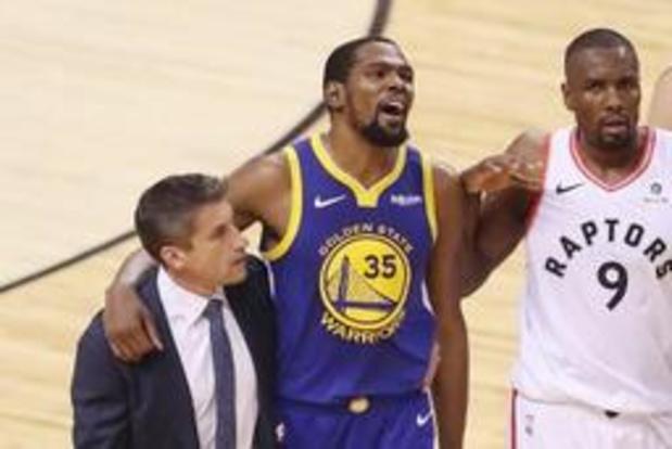 Kevin Durant verlaat Golden State voor Brooklyn