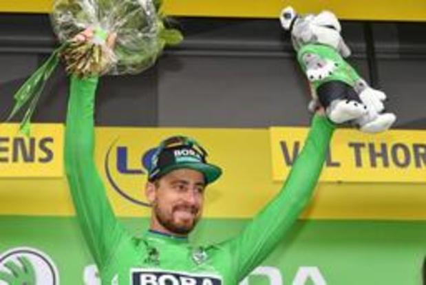 Tour de France - Peter Sagan pakt zevende groen en wordt zo enige recordhouder