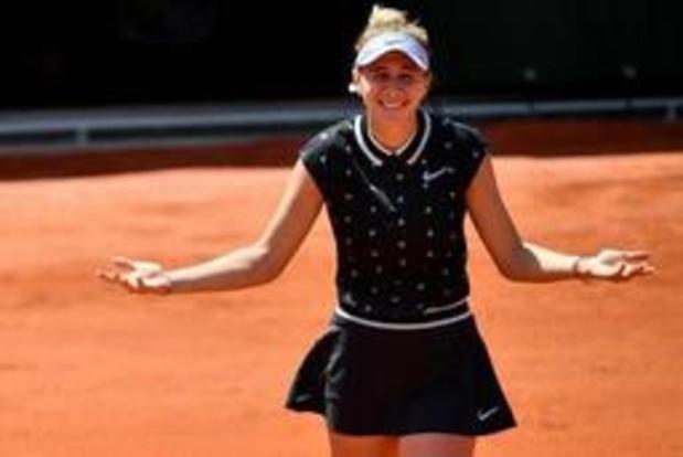 "Roland Garros - Amerikaanse revalidatie Anisimova: ""Speelde nog nooit zo goed"""