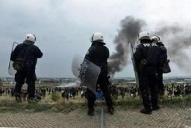 Asiel en migratie - Botsingen tussen migranten en politie in noorden van Griekenland