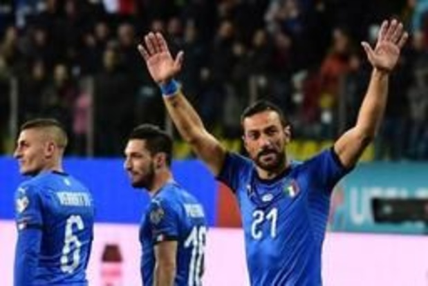 Qualifications Euro 2020 - L'Italie cartonne face au Liechtenstein, la Suisse partage (3-3) alors qu'elle a mené 3-0