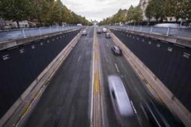 Brusselse wegentunnels afgesloten voor het verkeer