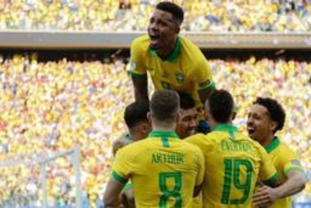 Copa America - Brazilië zet Peru overtuigend opzij, ook Venezuela naar kwartfinales