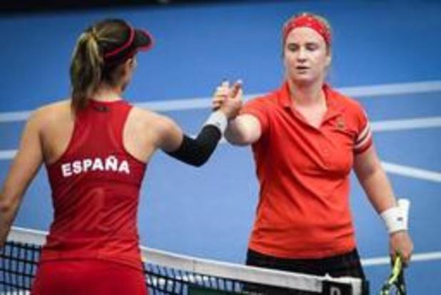 WTA Mallorca - Ysaline Bonaventure sneuvelt in openingsronde tegen Kerber