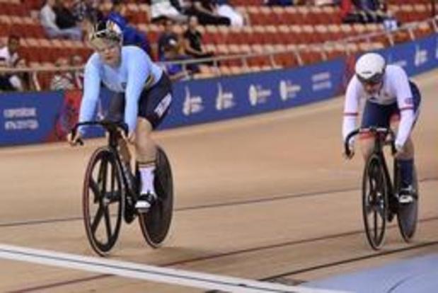 Europese Spelen - Nicky Degrendele bereikt 16e finales sprint
