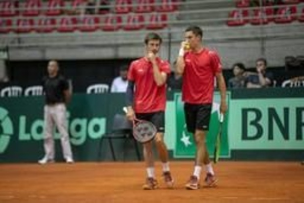 US Open - Sander Gille en Joran Vliegen uitgeschakeld