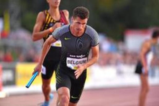 Nuit de l'athlétisme - Dylan Borlée a repris après 4 semaines fatigantes