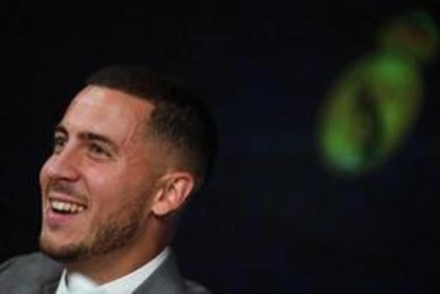"""Eden Hazard: """"Je rêve de jouer au Real depuis que je shoote dans un ballon"""""""
