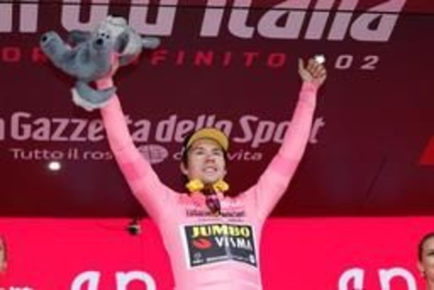 Giro - Roglic blijft probleemloos in het roze