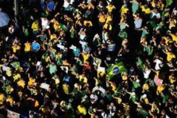 Brésil: des milliers de personnes en soutien au ministre de la Justice Sergio Moro
