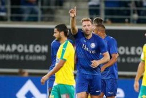 Europa League - La Gantoise bat Larnaca 3-0 et rencontrera Rijeka en barrages