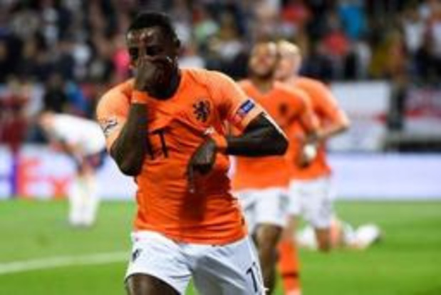 Nations League - Nederland knokt zich in verlengingen voorbij Engeland naar finale