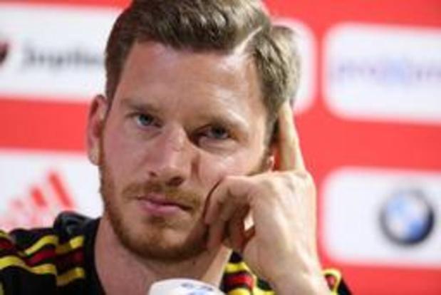 Jan Vertonghen s'attend à un match plus compliqué que l'amical en septembre