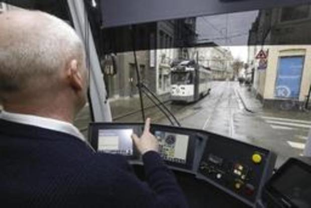 Trams krijgen (bijna) altijd groen licht dankzij gps-systeem