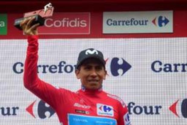Vuelta - Nairo Quintana s'attend à perdre son maillot rouge dès mardi au chrono