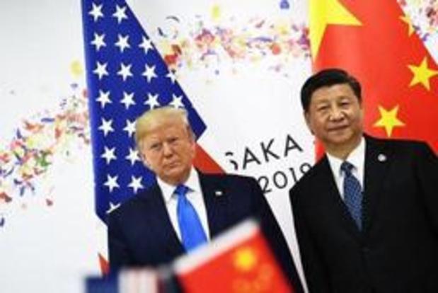 Onrust Hongkong - Trump koppelt crisis in Hongkong aan Chinees-Amerikaanse handelsoorlog