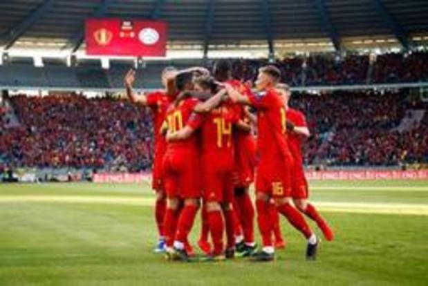 Diables Rouges - Troisième succès de rang pour la Belgique, victorieuse 3-0 du Kazakhstan