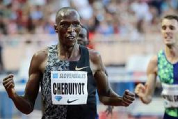 Memorial Van Damme - Topfavoriet Cheruiyot lost broers Ingebrigtsen op 1.500 meter, Debjani wordt laatste