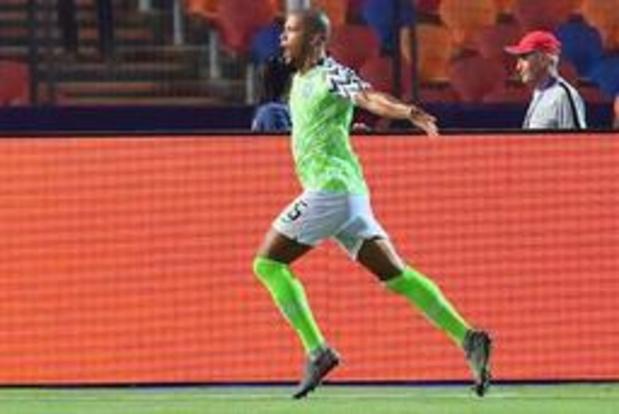 Africa Cup 2019 - Troost-Ekong (ex-Gent) helpt Nigeria in extremis aan ticket voor de halve finales