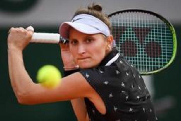 Roland-Garros - Vondrousova, 19 ans, bat Martic et se qualifie pour les demi-finales
