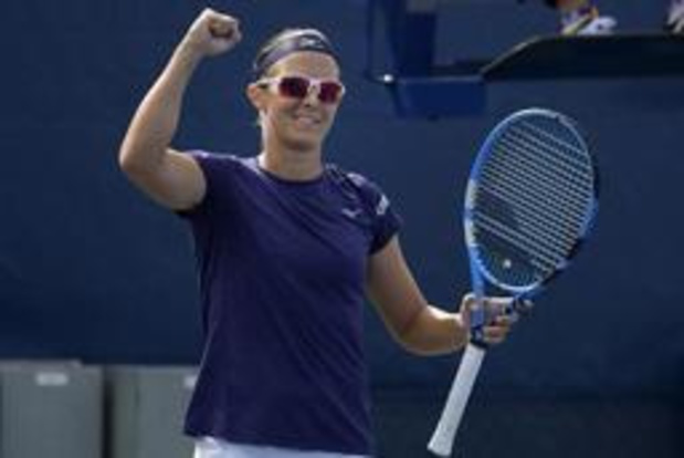 "US Open - Flipkens, 'very lucky loser' à New York : ""Andreescu peut gagner un Grand Chelem"""