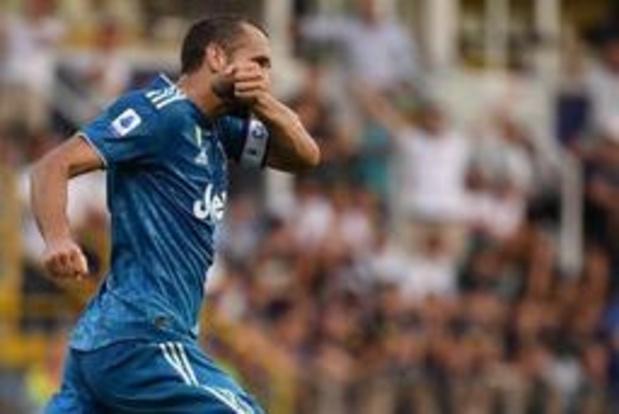 Serie A - La Juventus s'impose à Parme pour le premier match de la saison en Serie A