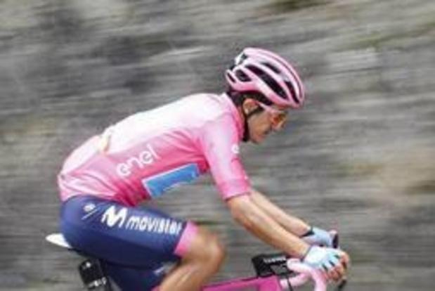 Cima résiste au retour des sprinteurs et s'offre la 18e étape, Carapaz reste en rose