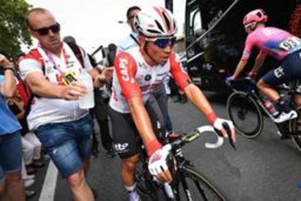 """Tour de France - Caleb Ewan: """"Le maillot blanc est une consolation"""""""