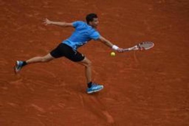 Dominic Thiem bereikt achtste finales