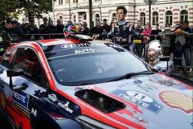 """Rally van Duitsland - Neuville: """"Het kampioenschap is nog lang"""""""