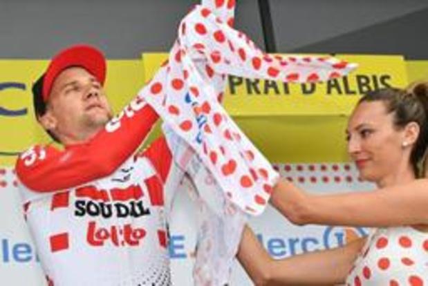 Tour de France - Tim Wellens wou bergpunten pakken, maar vergaloppeert zich