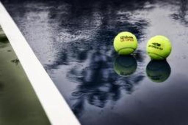 US Open - Regen steekt stokje voor duels van Goffin en Van Uytvanck
