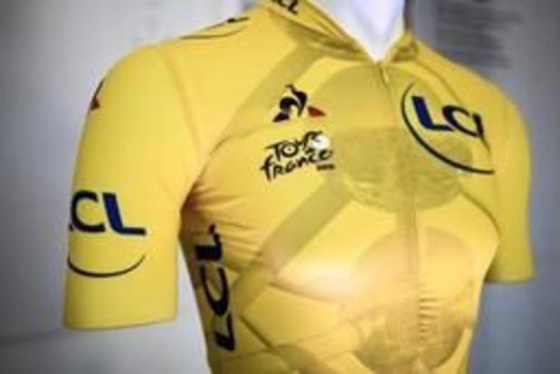 Twintig verschillende gele truien in 106e editie van Tour de France