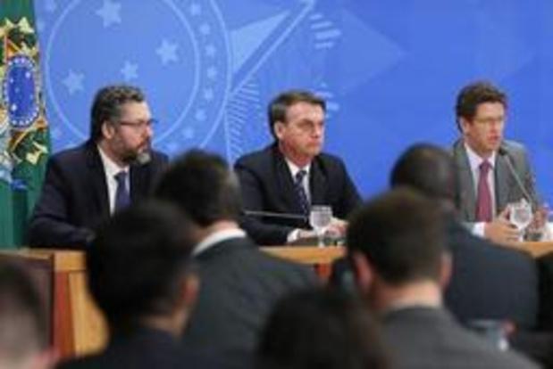 """Bolsonaro promet de combattre la """"déforestation illégale"""""""