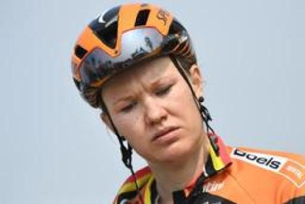 Jolien D'hoore wint in Baskenland