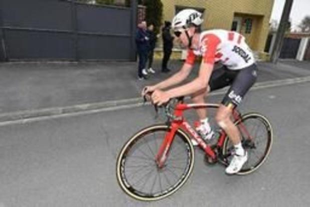 Paris-Roubaix - Tiesj Benoot au repos forcé après sa chute dimanche sur les route de l'Enfer du Nord