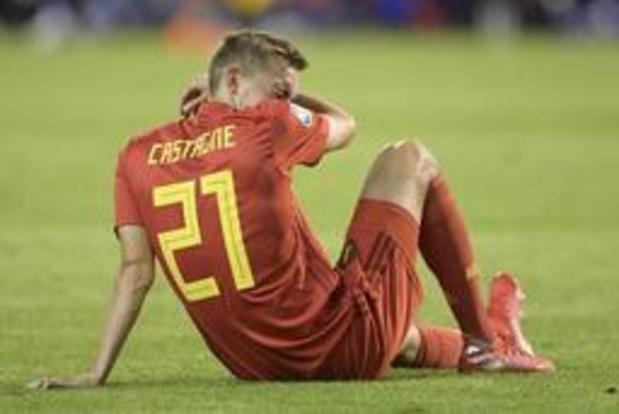 Belgen in het buitenland - Castagne (Atalanta) is tot eind augustus out met meniscusblessure, interlands in gevaar