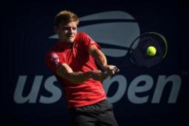 US Open - David Goffin niet zonder slag of stoot naar tweede ronde
