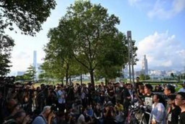 China steunt opschorting wetsontwerp in Hongkong