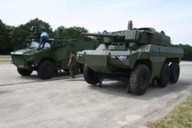Frankrijk sluit contract met industriëlen voor 442 pantservoertuigen voor België